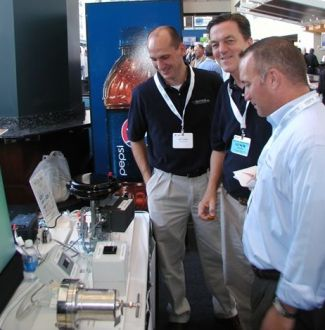 steriflow booth tradeshow